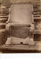 Albumen Acropolis Greece 31 35 ? Throne Dimitris Constantine Athens Athanasiou
