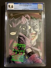 BATMAN:  THE KILLING JOKE #nn  CGC 9.6 1988 (W/P) 1ST EDITION. BRAND NEW CASE!
