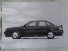 Audi 80 16v press photo Sep 1989