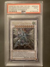 Yugioh Majestic Star Dragon SOVR-EN040 Ultimate Rare 1st Edition PSA 9 Mint