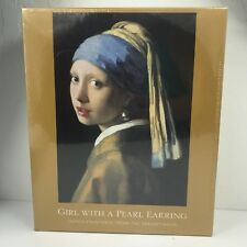 """New De Young Girl With A Pearl Earring 500 Piece Puzzle 19.25"""" x 26.75"""" Sealed"""