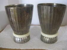 Silvestri India Brass Decorative Goblets ~ **Gift Idea