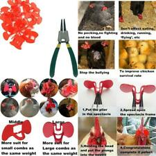 New listing Weilan 21 Pieces Pinless Peepers Chicken Glasses With Plier Pinless Peepers For