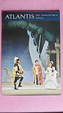 (R10_9_01) ATLANTIS 1959/11 Schiller-Stätten / Schiller auf den Theater u.w.