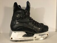 MISSION PURE FLY ICE HOCKEY SKATES 8 D Clean Skates Black