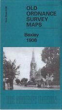 Old Ordnance Survey Map Bexley 1908