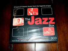 Various Artists - The Jazz Box: 3 CD Boxed Set (2003, UnionSquare) UK Import NEW