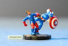 Marvel Avengers Heroclix 060 Cap and Bucky Super Rare
