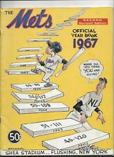1967 New York Mets Yearbook (2nd revised edition) exc-nm condition (see scan)