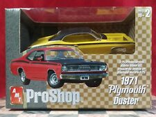 Amt 1:25 Scale ProShop 1971 Plymouth Duster Yellow New