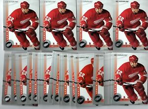 Mike Knuble - Red Wings - 1997-98 Donruss #225 - Rookie Card - 37ct Card Lot