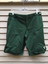 Luella for Target green striped bermuda shorts size 11