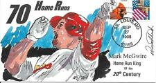 WILD HORSE HP ST LOUIS CARDINALS MARK McGWIRE 70th HOME RUN IN 1998 Sc 2913