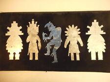 Vintage 5 Hopi Indian Kachina Doll Templates Art Supply Native American Arizona