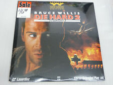DIE HARD 2 DIE HARDER Widescreen USA CLV/CAV LaserDisc Gatefold new still sealed