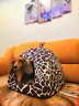 Pet Dog Cat Soft Bed House Kennel Puppy Doggy Winter Warm Cushion Basket Pad Mat