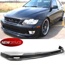Fits 01-05 IS300 Unpainted Mu Style PP Polypropylene Front Bumper Lip BodyKit