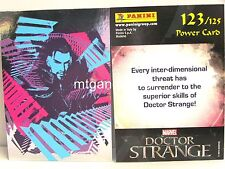 Doctor Strange Movie Trading Card - 1x #123 Power card foil-TCG