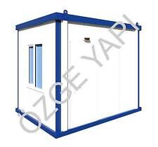 Bürocontainer Baucontainer Wachschutzcontainer Neu Schlüsselfertig  3m x 2,40m