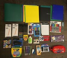 NEW Lot of School Office Supplies Pen Marker Pencil Highlighter Notebook 1114