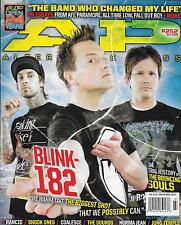 Alternative Press magazine Blink 182 The Bouncing Souls Rancid Shook Ones Sounds
