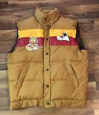Vintage 90's Lot 29 Luxe Looney Tunes Sylvester Down Feather Puffer Vest Size XL