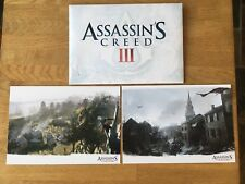 RARE Assassins Creed III 3 Lithograph from Collectors Freedom Edition Assassin's