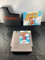 Super Mario Bros 2 Nintendo NES With Manual