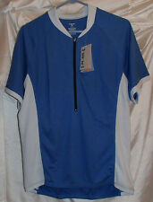 Hind Performance Short Sleeve Blue Cycling Jersey Mens Size XL New
