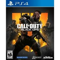 NEW Activision Call of Duty Black Ops 4 Video Game for PlayStation 4 - 2018