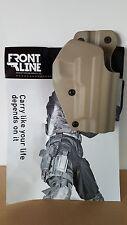 Frontline holster tan para SIG Sauer p220, p225, p226, p228