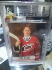 2003/04 ERIC STAAL PACIFIC RED 796/999 ROOKIE BGS 9 Mint young gun RC 10 CENTER