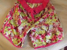 SHORT Plage fleurs été Femme Taille 38 48 - Size 12 / neuf étiquette