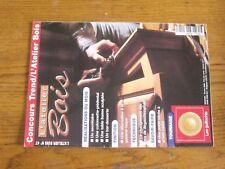$$$ Revue L'atelier Bois N°47 SecretaireGomme-laquePorte vitreeGuillochis