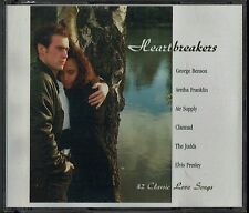 Heartbreakers - 42 Classic Love Songs (3xCD) - Nilsson, Elvis, Monkees, 5 Star