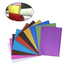 10pcs Glitter Card Sheet Sparkly Colour Perl Card Craft DIY Scrapbooking Paper
