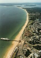 New Postcard Bournemouth Dorset from the Air, Pier, the Chines, Sandbanks, Poole