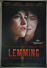 LEMMING ROLLED ORIG 1SH MOVIE POSTER CHARLOTTE GAINSBOURG RAMPLING (2005)