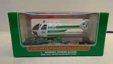 2005 Hess Miniature Helicopter Toy Figure Gasoline