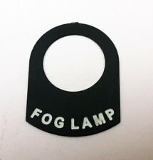 FOG LAMP (1)  Land Rover Classic Campervan  Rally Race Kit car switch tag