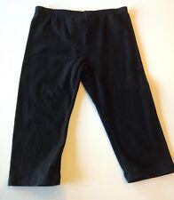 Girls Black  Leggings - Sz -5 - GUC