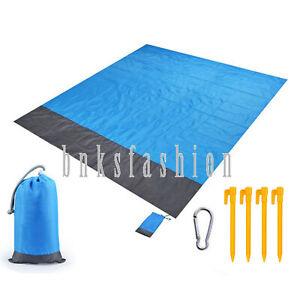 Waterproof Beach Blanket Lightweight Portable Outdoor Travel Camping Picnic Mat