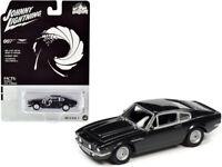 Johnny Lightning 1:64 James Bond 007 1987 Aston Martin V8 Diecast Black JLSP097