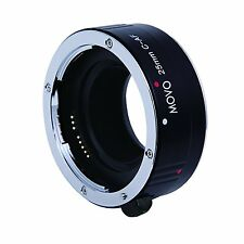 Movo Auto Focus 25mm Macro AF Lens Extension Tube for Canon EOS EF DSLR Camera