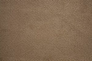 Upholstery Fabric - Striped Suede Mocha (15m) ***$4.00/mtr***