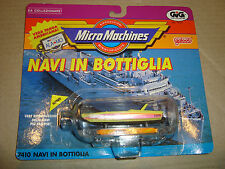 MICRO MACHINES 7410 NAVI IN BOTTIGLIA SPEED BOAT GALOOB/GIG