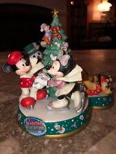 TOKYO DISNEYLAND 2002 CHRISTMAS FANTASY MICKEY MINNIE GOOFY COLLECTORS FIGURE
