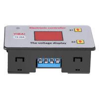 Controller Regolatore Di Carica 12V Batteria Sottotensione Automatico LCD