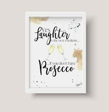 A5,A4 Print, Wine,Prosecco,Gin ,Wall Art Poster, Gift, Decor,Kitchen, Home