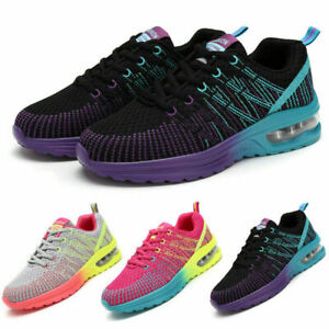 Women's Air Cushion Sneakers Casual Running Leisure Fitness Tennis Sports Shoes
